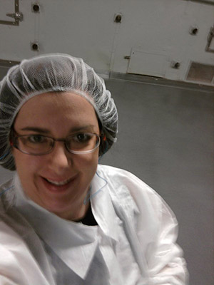 Yes I do look lovely in my hair net...not!