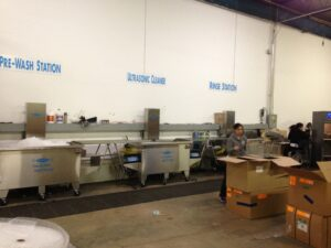 The Morantz SM-200 Super System: Pre-Wash, Ultrasonic Wash, Rinse & Drying Stations