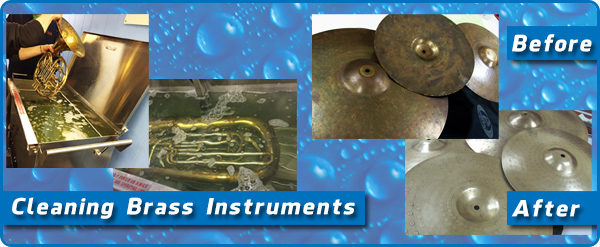 Ultrasonic Musical Instrument Cleaning