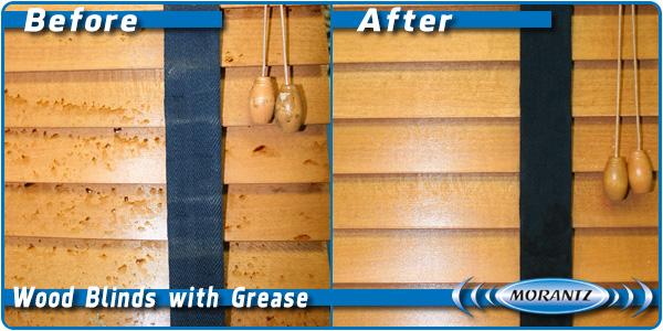 Wood Blinds With Grease Sm