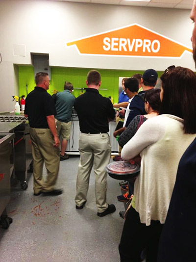 CE Class Visits Servpro of West Kirkwood MO