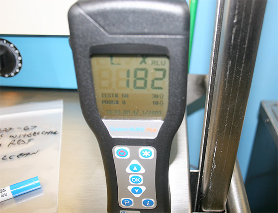 Pre-Clean RLU Count for Wheelchair