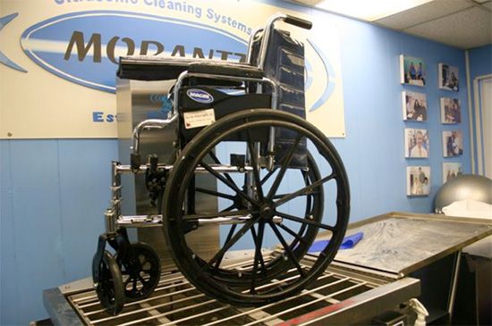 Wheelchair on Machine