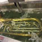 Cleaning a Tuba with Morantz Ultrasonics